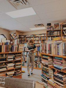 libreria vintage