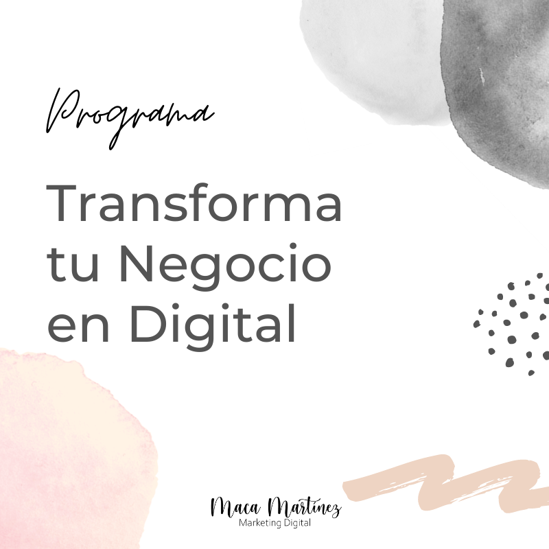 Transforma tu Negocio en Digital